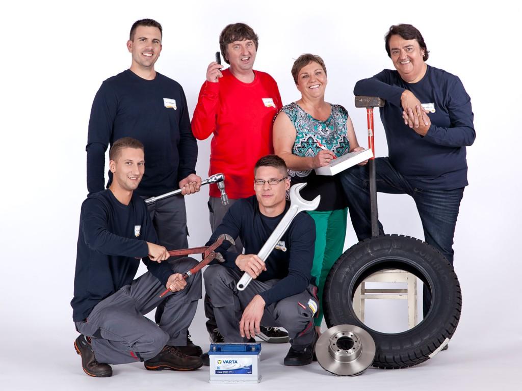 Das Team von Auto Kladler